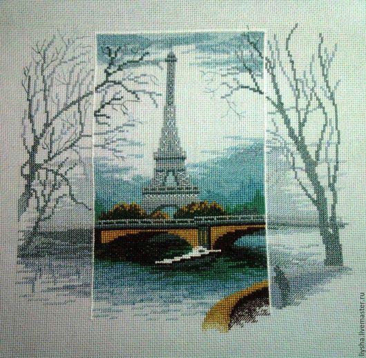 Город ручной работы. Ярмарка Мастеров - ручная работа. Купить Увидеть Париж.... Handmade. Васильковый, подарок на любой случай, красота