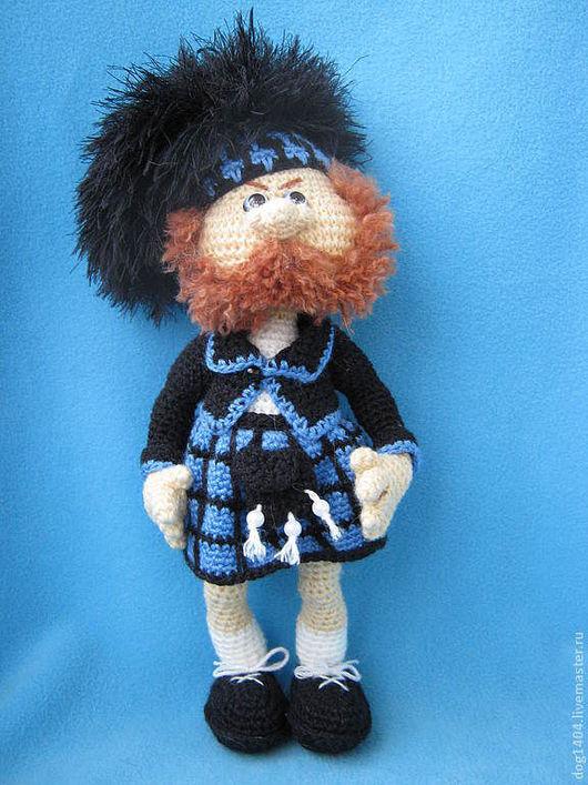 Обучающие материалы ручной работы. Ярмарка Мастеров - ручная работа. Купить Мастер-класс по вязанию игрушки Шотландец (+18). Handmade.