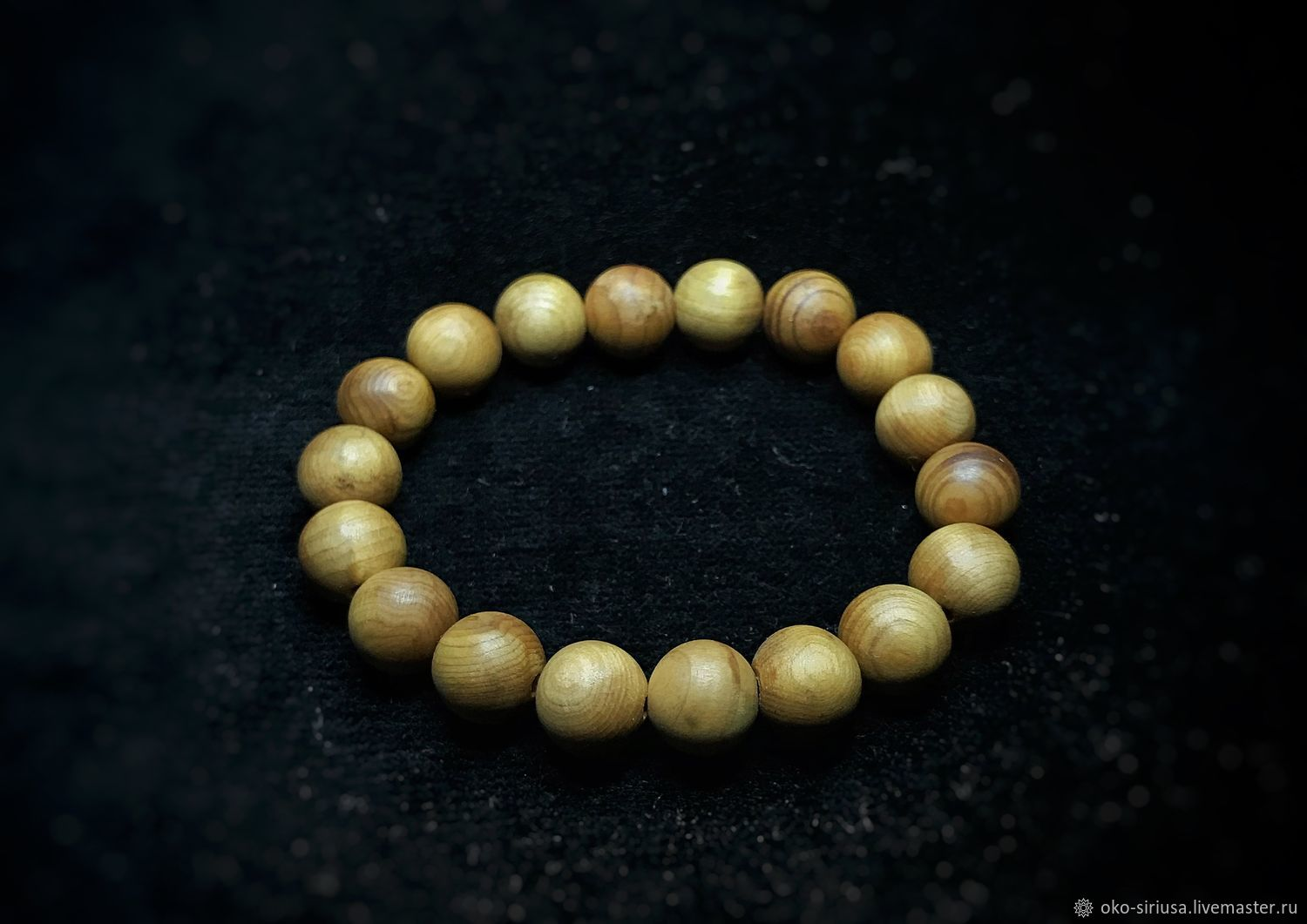 Bracelet made of natural Juniper, Bead bracelet, Moscow,  Фото №1