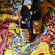 """Роспись по обуви. Туфли с росписью """"Сказочные звери"""". Туфли. Nataly Paler. Ярмарка Мастеров.  Фото №6"""