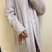 Одежда ручной работы. Ярмарка Мастеров - ручная работа Шуба-платье из норки. Handmade.