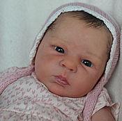 Куклы и игрушки ручной работы. Ярмарка Мастеров - ручная работа Кукла реборн новорожденная малышка. Handmade.