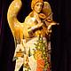 Сувениры ручной работы. ангел. Yaprosperity. Интернет-магазин Ярмарка Мастеров. Ангел, сувенир из россии, подарок на рождество, дерево, акрил