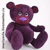 """Куклы и игрушки ручной работы. Ярмарка Мастеров - ручная работа Медведь """"Мечтатель""""(11 см). Handmade."""