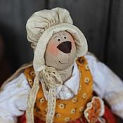 """Куклы и игрушки ручной работы. Ярмарка Мастеров - ручная работа Игрушка интерьерная """"Зайка английская леди"""". Handmade."""