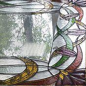 Для дома и интерьера ручной работы. Ярмарка Мастеров - ручная работа Тиффани. Зеркало. Handmade.