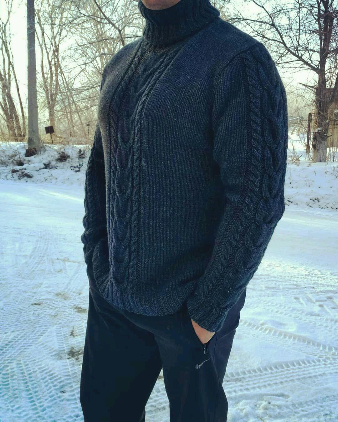 Men's silk Merino sweater, Mens sweaters, Miass,  Фото №1