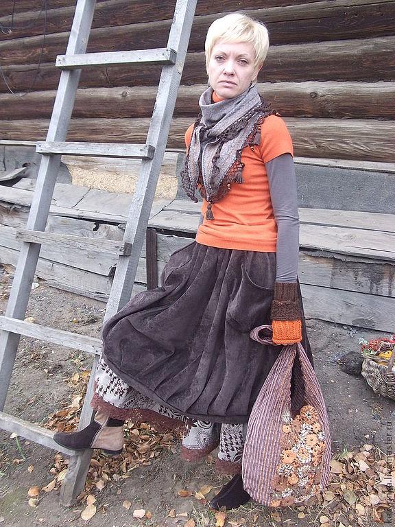 "Юбка ""Территория БОХО"", Юбки, Барнаул,  Фото №1"