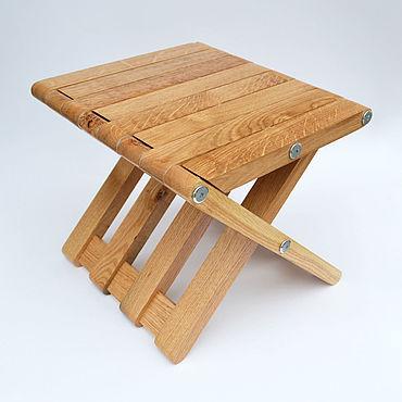 Мебель ручной работы. Ярмарка Мастеров - ручная работа Складной табурет. Handmade.