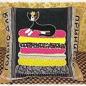 Для дома и интерьера ручной работы. Ярмарка Мастеров - ручная работа Подушка для принцессы.. Handmade.