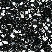 Материалы для творчества handmade. Livemaster - original item 10g 3 mm cube 81 hematite Japanese beads TOHO of metallizers. Handmade.