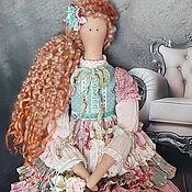 Куклы и игрушки ручной работы. Ярмарка Мастеров - ручная работа Текстильная интерьерная кукла Тильда. Handmade.