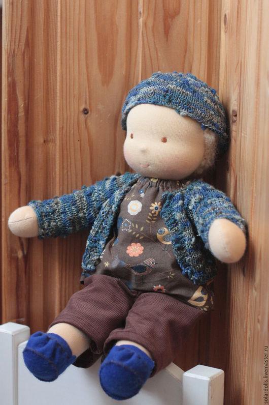 Платон 39 см . Вальдорфская кукла Julia Solarrain (SolarDolls) Ярмарка Мастеров