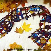 Аксессуары ручной работы. Ярмарка Мастеров - ручная работа шарф 2. Handmade.