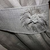 Для дома и интерьера handmade. Livemaster - original item Linen curtains. Handmade.