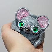 Куклы и игрушки handmade. Livemaster - original item OOAK Little Gray Mouse. Handmade.
