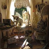 Куклы и игрушки ручной работы. Ярмарка Мастеров - ручная работа Кот ученый. Handmade.