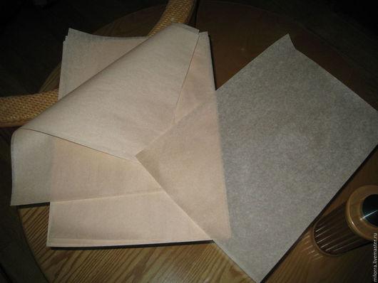 Упаковка ручной работы. Ярмарка Мастеров - ручная работа. Купить Подпергамент пищевой не отбеленный А3 (52гр/м2). Handmade. Белый, упаковка