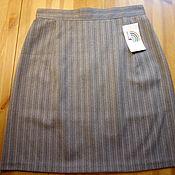 Одежда handmade. Livemaster - original item Office striped skirt. Handmade.