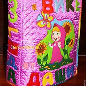 """Куклы и игрушки ручной работы. Ярмарка Мастеров - ручная работа Именная книжка """"Вике от Даши!. Handmade."""