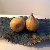 Для дома и интерьера ручной работы. Ярмарка Мастеров - ручная работа Груши осенние. Handmade.