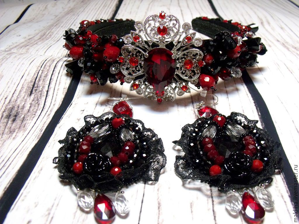Formal surroundings and earrings in the style of Dolce, Jewelry Sets, Moscow,  Фото №1