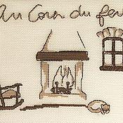 Картины и панно ручной работы. Ярмарка Мастеров - ручная работа Годами созданный очаг.... Handmade.