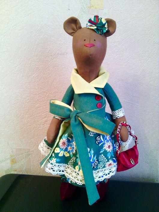 Куклы Тильды ручной работы. Ярмарка Мастеров - ручная работа. Купить Мишка Тильда. Handmade. Мишка, мышка, мишка в подарок