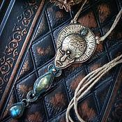 """Украшения ручной работы. Ярмарка Мастеров - ручная работа Кулон """"Merinoita. Морская колдунья"""". Handmade."""
