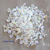 Материалы для творчества handmade. Livemaster - original item 25 PCs 4 mm Beads X00030 Fire Polished Czech glass beads. Handmade.