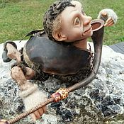 """Куклы и игрушки ручной работы. Ярмарка Мастеров - ручная работа Кукла """"МАЙСКИЙ ЖУК """". Handmade."""