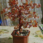 Подарки к праздникам ручной работы. Ярмарка Мастеров - ручная работа Дерево счастья из сердолика. Handmade.