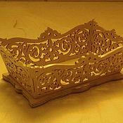 Для дома и интерьера ручной работы. Ярмарка Мастеров - ручная работа Вазочка для карамели. Handmade.