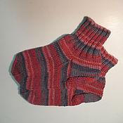 Аксессуары ручной работы. Ярмарка Мастеров - ручная работа Полосатые носки. Handmade.