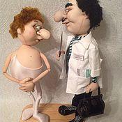 Куклы и игрушки ручной работы. Ярмарка Мастеров - ручная работа Пластический хирург поможет плохому танцору. Handmade.
