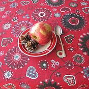 """Для дома и интерьера ручной работы. Ярмарка Мастеров - ручная работа Скатерть """"Новогодние ярмарки""""-1 скатерть скатерть  новогодняя скатерть. Handmade."""