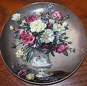 Винтаж handmade. Livemaster - original item A delightful plate