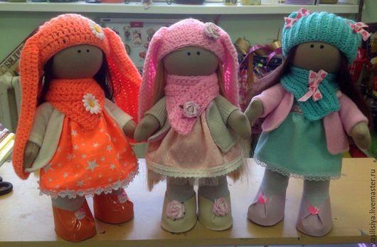 Куклы тыквоголовки ручной работы. Ярмарка Мастеров - ручная работа. Купить интерьерная кукла. Handmade. Рыжий, большеножка