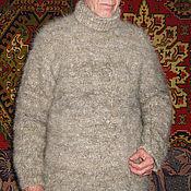 Одежда ручной работы. Ярмарка Мастеров - ручная работа Свитер из собачьей шерсти. Handmade.