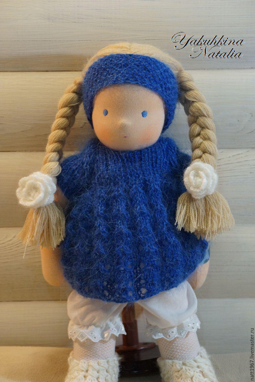 Masha - Waldorf doll, Waldorf Dolls & Animals, Samara,  Фото №1