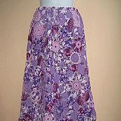 """Одежда ручной работы. Ярмарка Мастеров - ручная работа Юбка """"Фиолетовые сны"""". Handmade."""