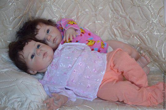 Куклы-младенцы и reborn ручной работы. Ярмарка Мастеров - ручная работа. Купить Близняшки реборн. Handmade. Кукла реборн