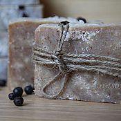 Косметика ручной работы. Ярмарка Мастеров - ручная работа МОЖЖЕВЕЛЬНИК натуральное мыло с солью. Handmade.