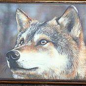 """Для дома и интерьера ручной работы. Ярмарка Мастеров - ручная работа """"Wolf"""" Купюрница-шкатулка для мужчин. Handmade."""