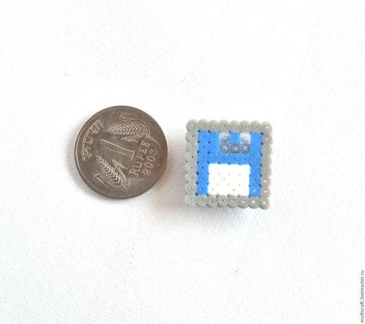 Магниты ручной работы. Ярмарка Мастеров - ручная работа. Купить Магниты Floppy disc из коллекции Pixel art. Handmade. Комбинированный