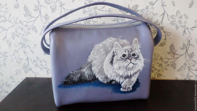 Leather bag hand painted For Svetlana, Classic Bag, Noginsk,  Фото №1