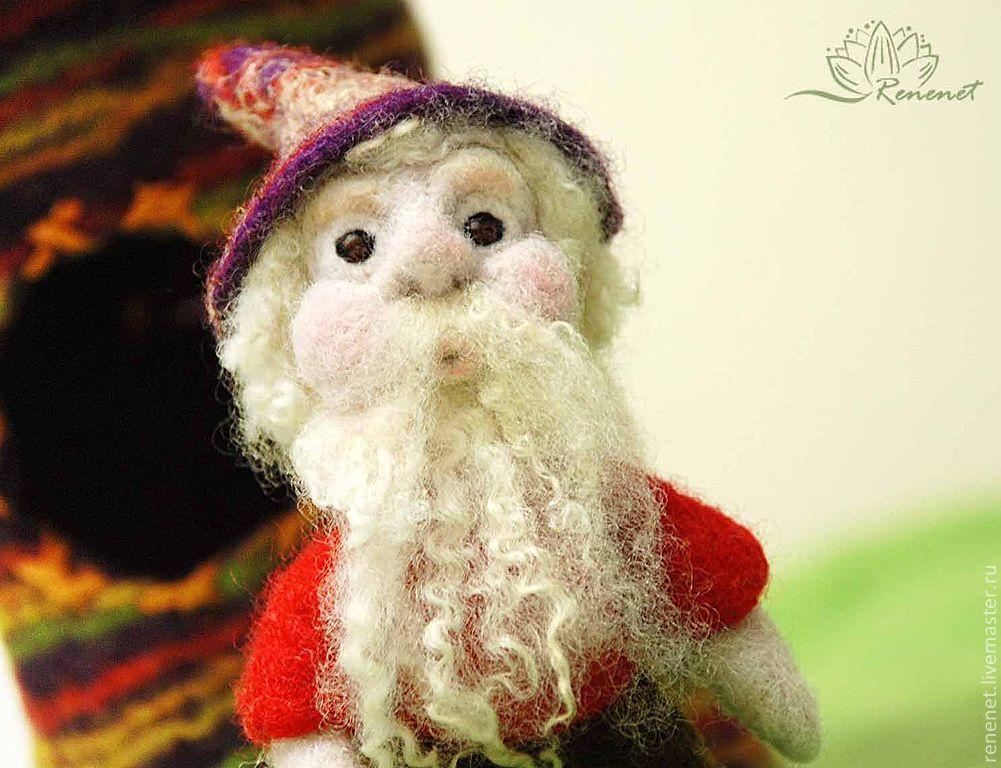 """Детская валяная игрушка """"Гном Матвей"""", Войлочная игрушка, Смоленск,  Фото №1"""