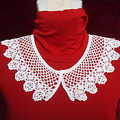 Collars handmade. Livemaster - original item Lace collar No. №18. Handmade.