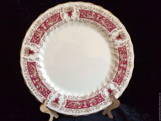 Винтажная посуда. Ярмарка Мастеров - ручная работа. Купить Красивая тарелка, Meakin, Англия. Handmade. Комбинированный