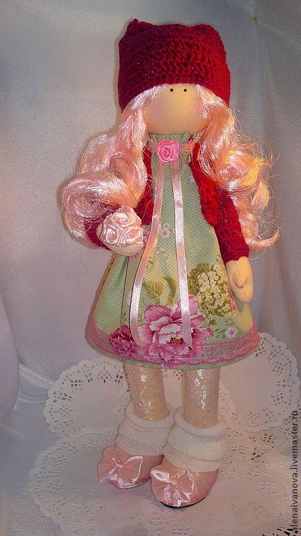 Коллекционные куклы ручной работы. Ярмарка Мастеров - ручная работа. Купить Кукла Снежка. Handmade. Кукла ручной работы